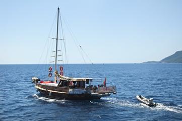 Boat in the Ocean
