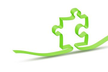 ribbon jigsaw puzzle