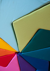 Colorful cushion composition