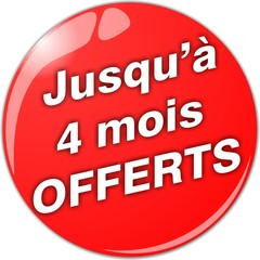 bouton 4 mois offerts
