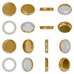 Obraz Gold crown cap - fototapety do salonu