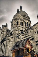 Montmartre Quarter in December, Paris