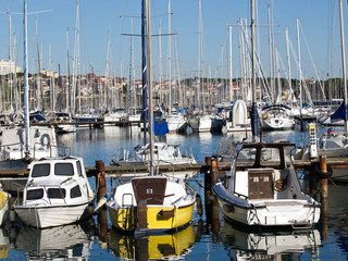 boats in port