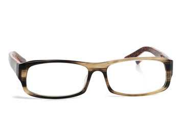isplated glasses with tiger pattern