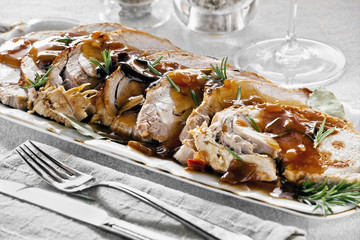 Tasty Roasted Pork Slices