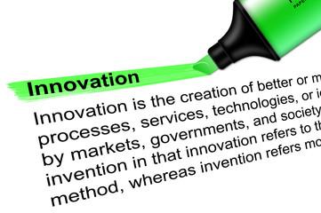 Highlighter Innovation green