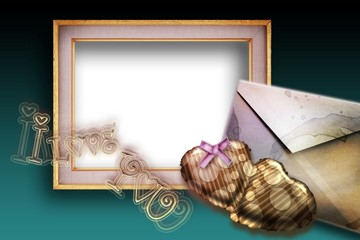 love letter background