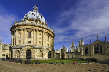 Radcliffe Camera, part of Bodleian Library in Oxford