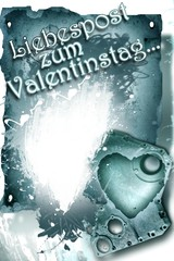 Liebespost zum Valentinestag