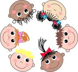 multi cultural children