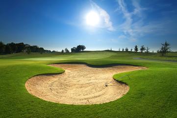 Foto auf AluDibond Golf Golf course