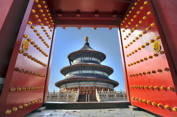 Keuken foto achterwand China Temple of Heaven in Beijing, China