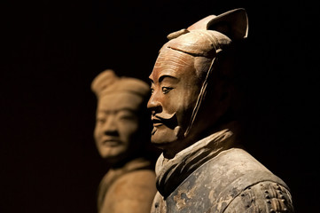 Photo sur cadre textile Xian famous Chinese terracotta army