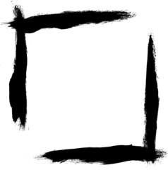 High resolution grunge frame