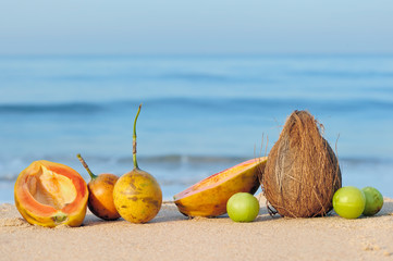 Fruit near Sea