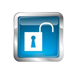 Open Padlock Icon