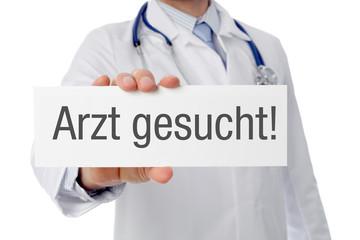 Arzt gesucht