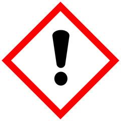 Schild Gefahrgut - Gefahr