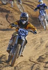 Motocross leader