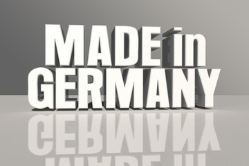 Made in Germany sign