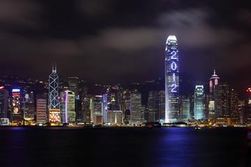 skyscraper show 2012 at night