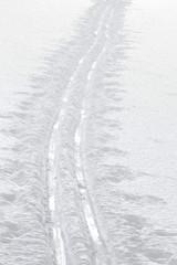 Fototapete - Ski track
