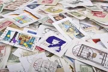 lose Briefmarkensammlung