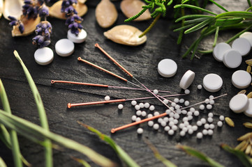 Akupunktur, Arzneien, Alternative
