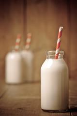 Retro Milk Bottle