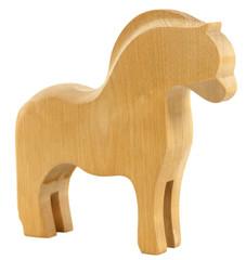 Old vintage wooden horse