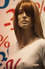 mannequin vitrine soldes  sexy