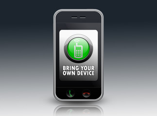 """Smartphone """"BYOD - Bring Your Own Device"""""""