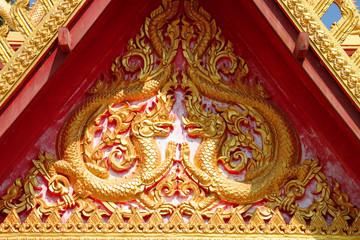 Golden dragons image