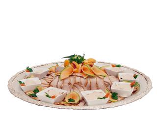 roast veal platter