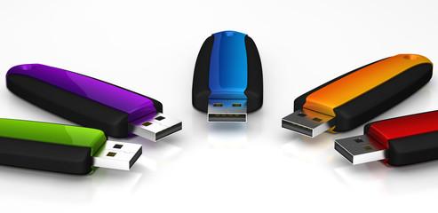 Clé USB multi1