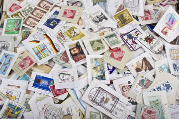 Briefmarkensammlung Rohmaterial