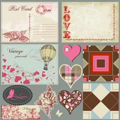 Vintage love set
