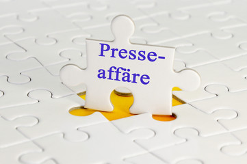 Presseaffäre Puzzle
