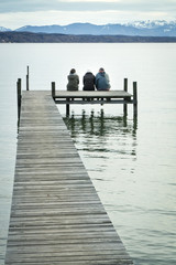 three at the jetty