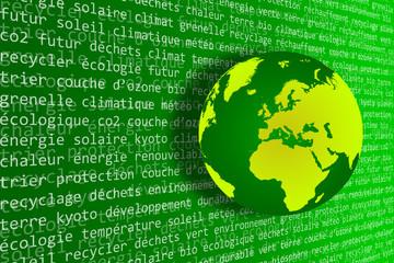 Ecologie Planète Mots