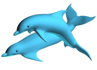 Photo sur Aluminium Dauphins Dolphin 02