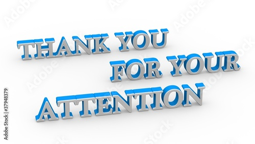 """Thank you for your attention"""" Stock photo and royalty-free images on ..."""