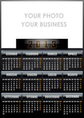 Calendario 2012 black