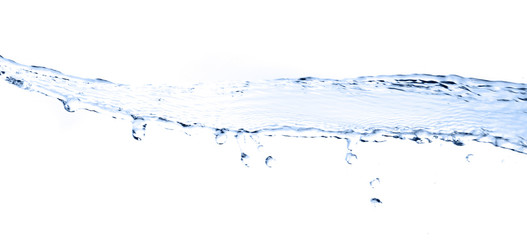 water splash isolated on a white background