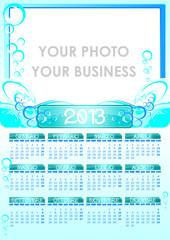 Calendario 2013 water