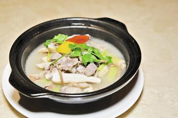Spare Ribs soup in Casserole
