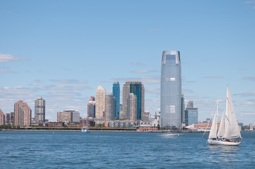 New York City, yacht