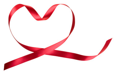 heart of the red ribbon