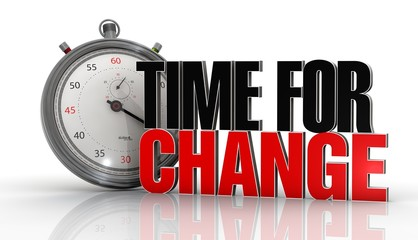 change for time