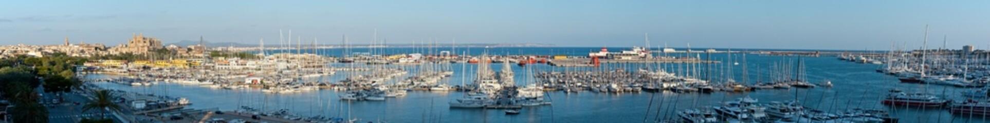 Panoramica di Palma De Mallorca